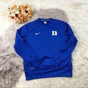 Duke Blue Devils Nike Therma Fit Sweatshirt